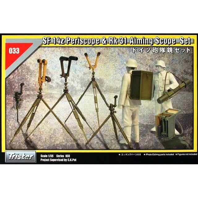 German Sf 14z Periscope & RK 31 Aiming Scope Set