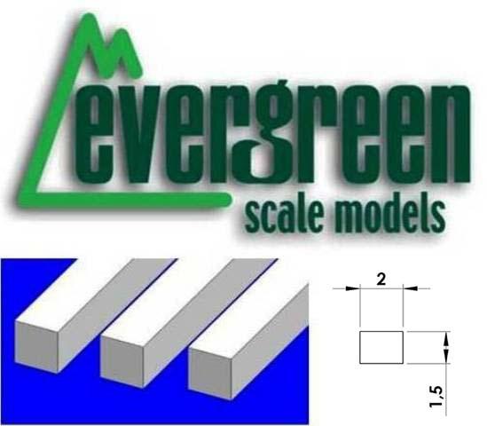 Dimensional Strips 1.5mm x 2.0mm (10 Strips Per Pack) #154