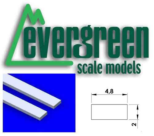 Dimensional Strips 2.0mm x 4.8mm (8 Strips Per Pack) #168