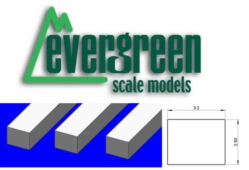 Dimensional Strips 2.5mm x 3.2mm (7 Strips Per Pack) #176