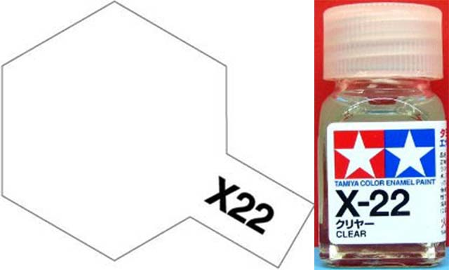 X-22 Clear Enamel
