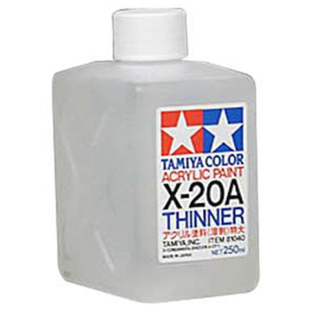 X-20A Acrylic Thinners Acrylic - 250ml