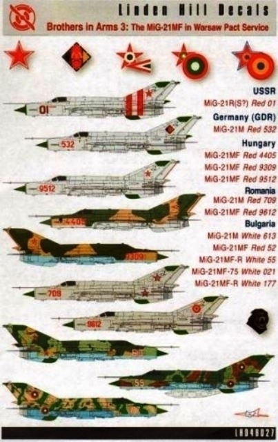 MiG-21R Fishbed in Warsaw Pact Service