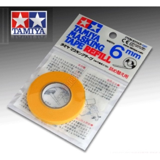 Masking Tape - 6mm (Refill)