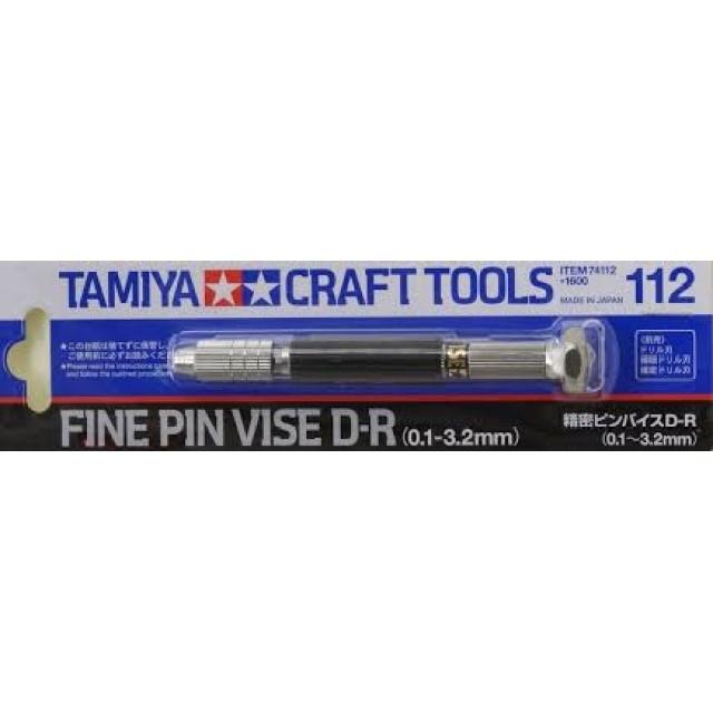 Fine Pin Vise D-R (0.1-3.2mm)