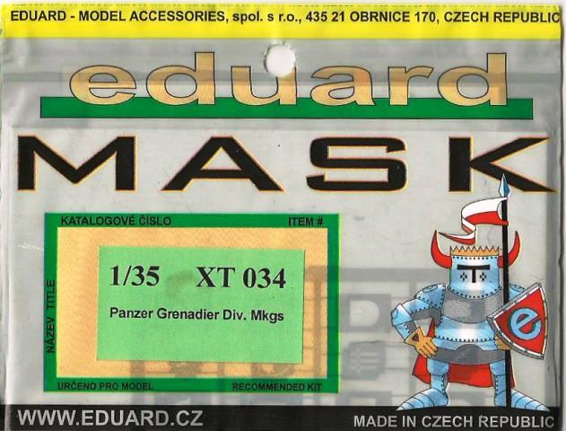 German License Plates Express Masking Set