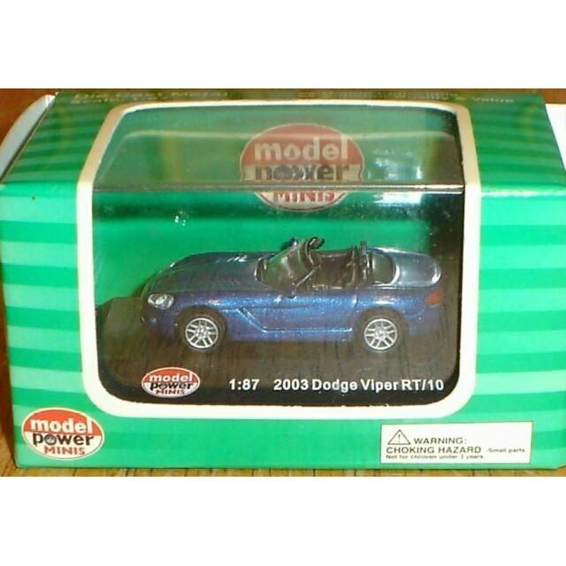2003 Dodge Viper RT 10 Blue