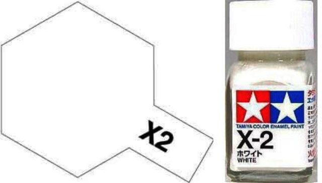 X-2 White - Gloss - Enamel Paint