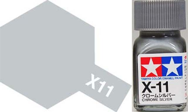 X-11 Chrome Silver - Gloss - Enamel Paint