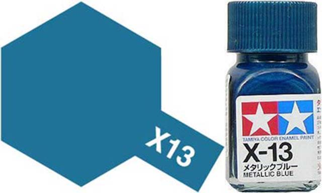 X-13 Metallic Blue - Gloss - Enamel Paint