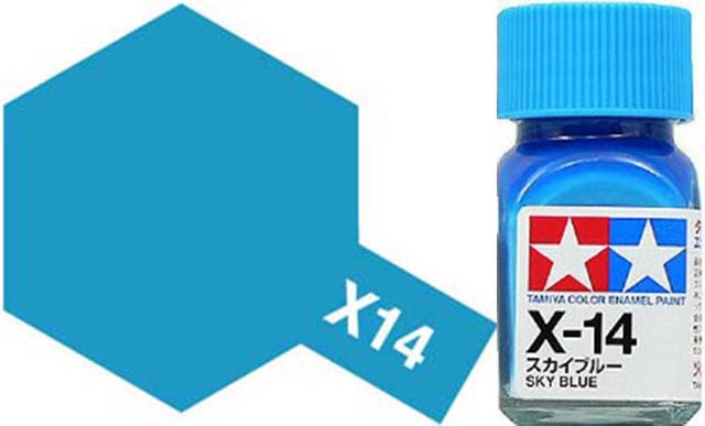 X-14 Sky Blue - Gloss - Enamel Paint