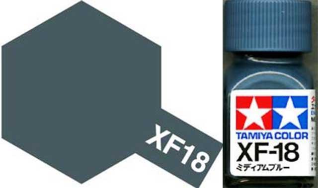 XF-18 Medium Blue Enamel Paint