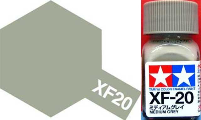 XF-20 Medium Grey Enamel Paint