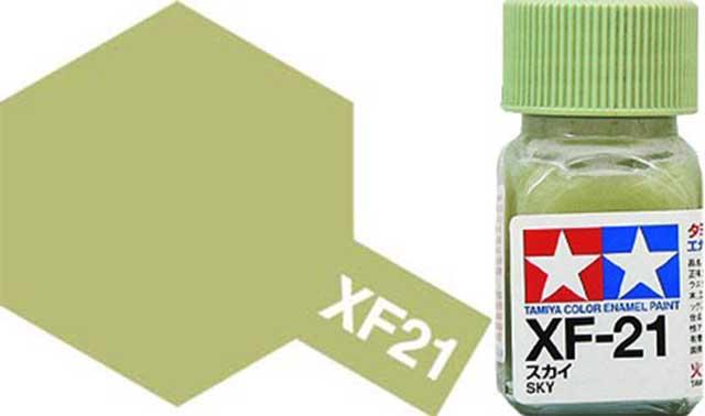 XF-21 Sky Enamel Paint