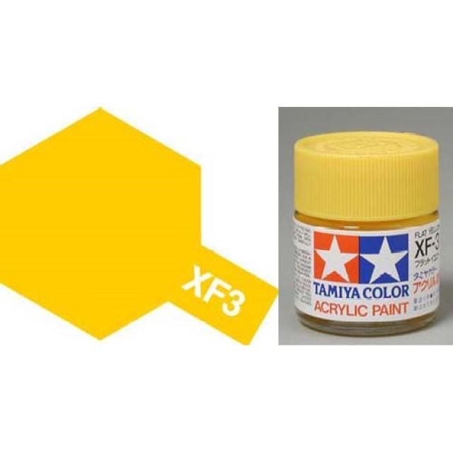 XF-3 Yellow Acrylic