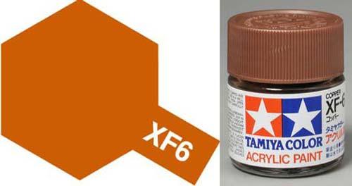 XF-6 Copper - Matt Acrylic Paint