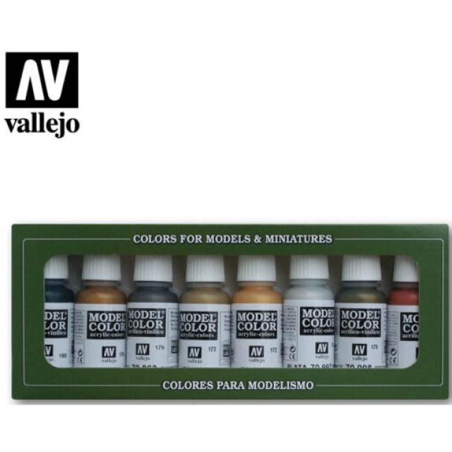 Metallic Colors (8 Colour Set)