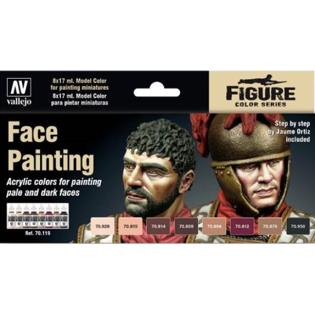 Faces Painting Set (8 Colour Set)