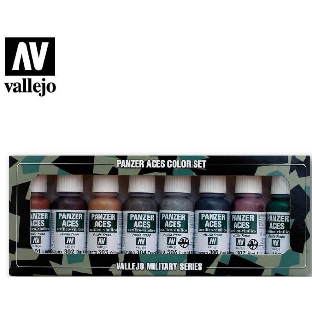 Panzer Aces - Rust, Tracks, Rubber (8 Colour Set)