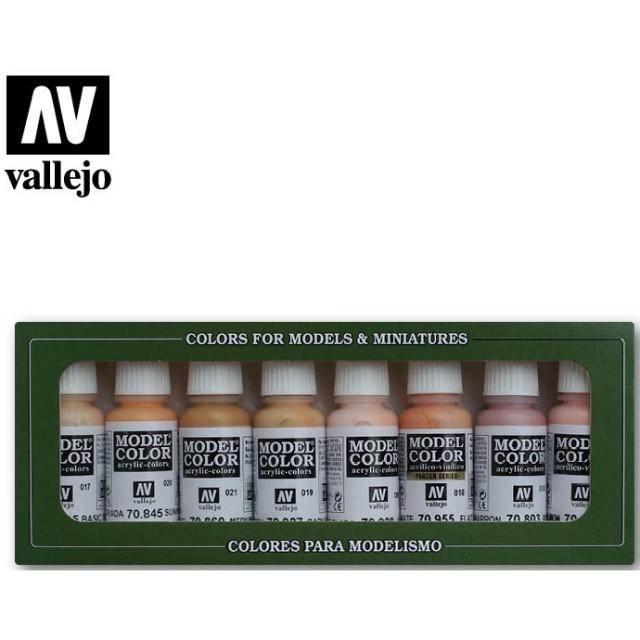 Face & Skintones (8 Colour Set)
