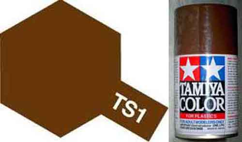 TS-1 Red Brown - Matt - Synthetic Lacquer Paint