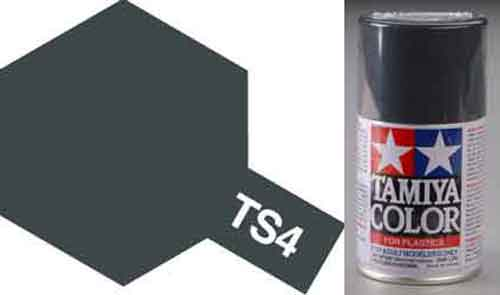 TS-4 German Grey - Matt - Synthetic Lacquer Paint