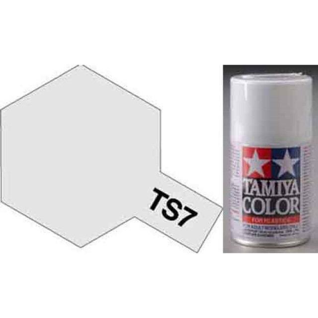 TS-7 Racing White - Gloss - Synthetic Lacquer Paint