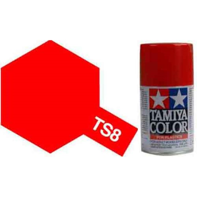 TS-8 Italian Red - Gloss - Synthetic Lacquer Paint