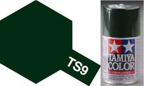 TS-9 British Green - Gloss - Synthetic Lacquer Paint