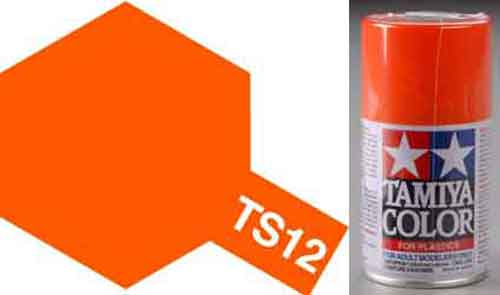 TS-12 Orange - Gloss - Synthetic Lacquer Paint