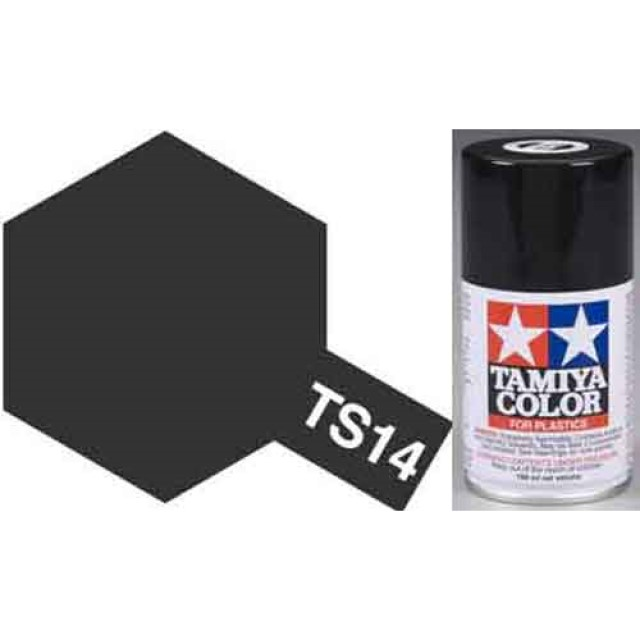 TS-14 Black - Gloss - Synthetic Lacquer Paint