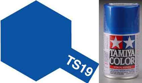 TS-19 Blue - Metallic - Synthetic Lacquer Paint