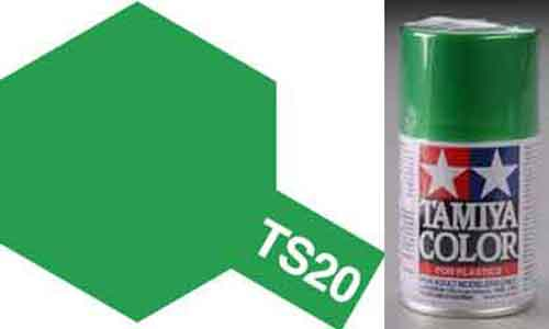 TS-20 Green - Metallic - Synthetic Lacquer Paint