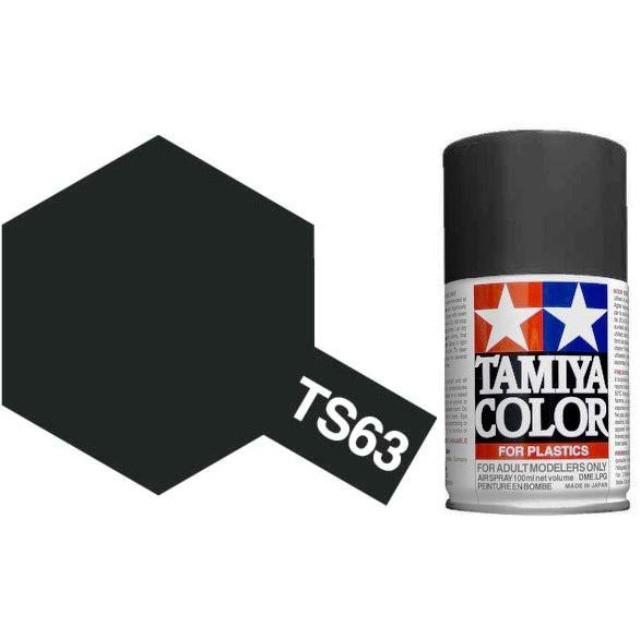 TS-63 NATO Black - Matt - Synthetic Lacquer Paint