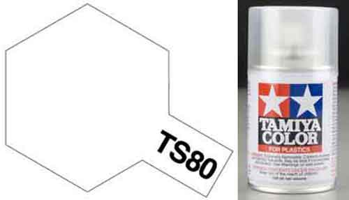 TS-80 Clear - Matt - Synthetic Lacquer Paint