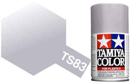 TS-83 Metallic Silver - Gloss - Synthetic Lacquer Paint
