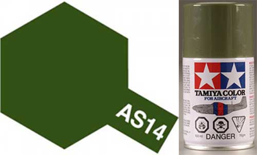 AS-14 Olive Green