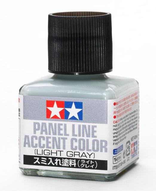 Panel Line Accent Colour Light Gray