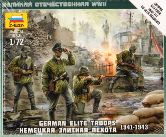 German Elite Troops 1939 - 43