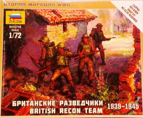British Reconnaissance Team 1939-1945