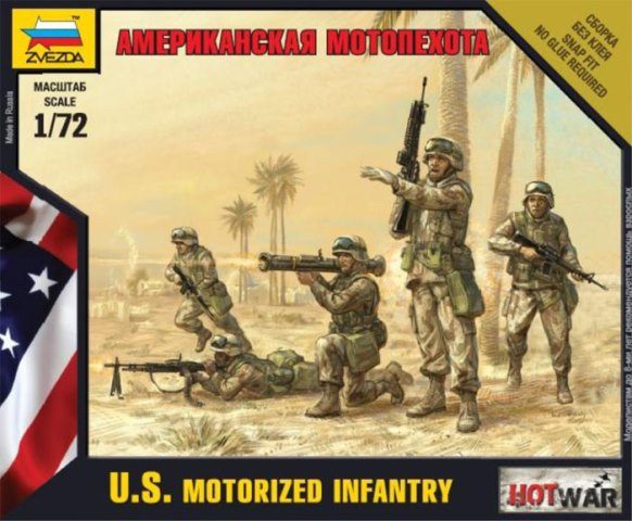 U.S. Motorized Infantry