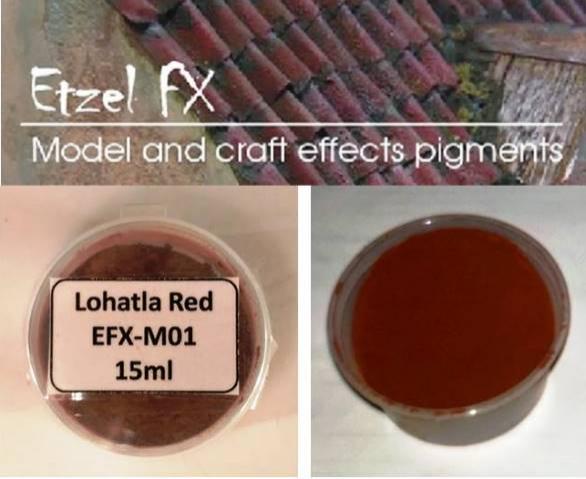 Lohatla Red Weathering Powder (15ml)