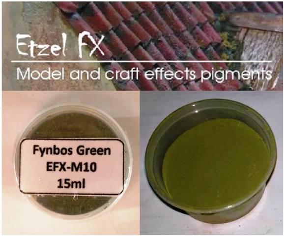 Fynbos Green Weathering Powder (15ml)