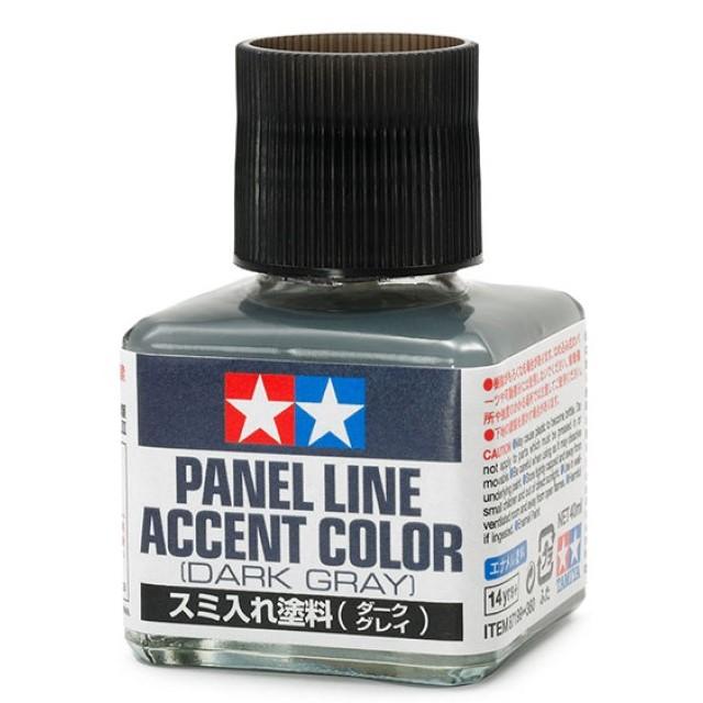 Panel Line Accent Colour Dark Grey
